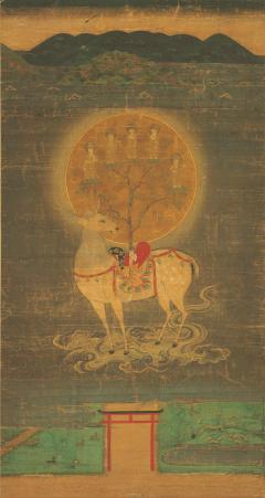 重要文化財《春日鹿曼荼羅図》 鎌倉時代 奈良国立博物館