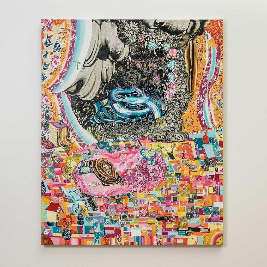 水野里奈「真夜中」2020年-キャンバスに油彩©MIZUNO-Rina-Courtesy-Mizuma-Art-Gallery