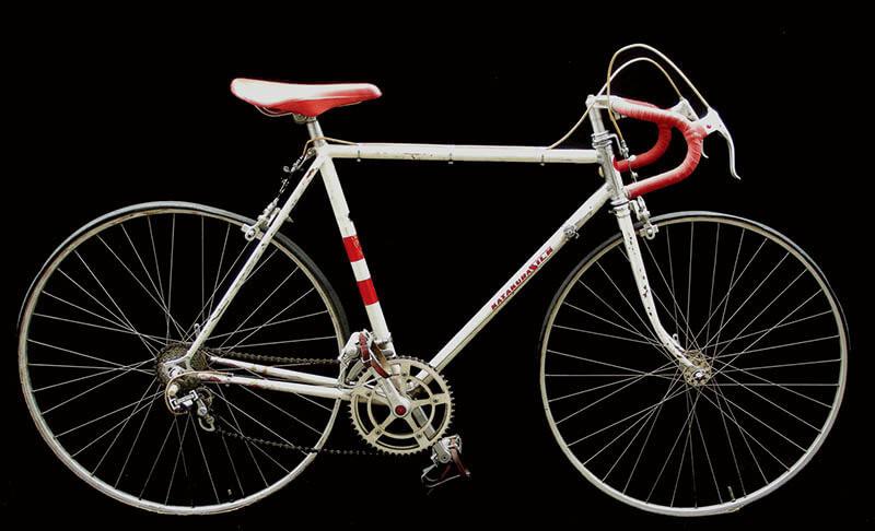 片倉自転車「片倉シルク」1963年 八王子市郷土資料館蔵