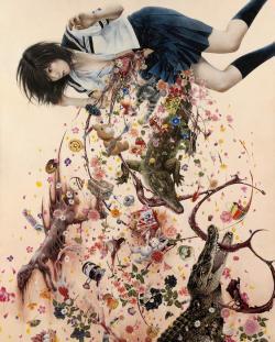 篠原 愛《女のコは何でできている?》2009-2011