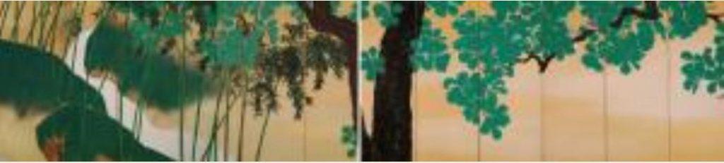 平福百穂 《玉柏》 1928年 後期展示