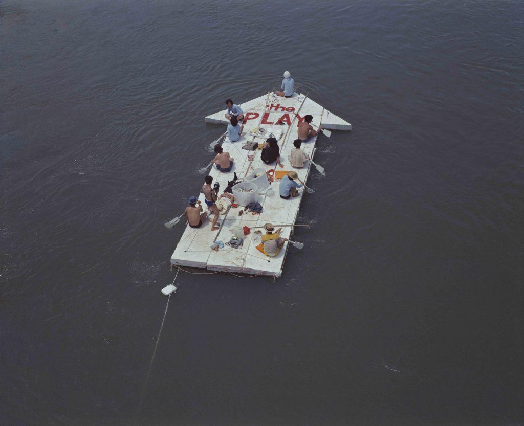 プレイ《現代美術の流れ》より「現代美術の流れ」記録写真(3) 1969/2020 年 国立国際美術館蔵