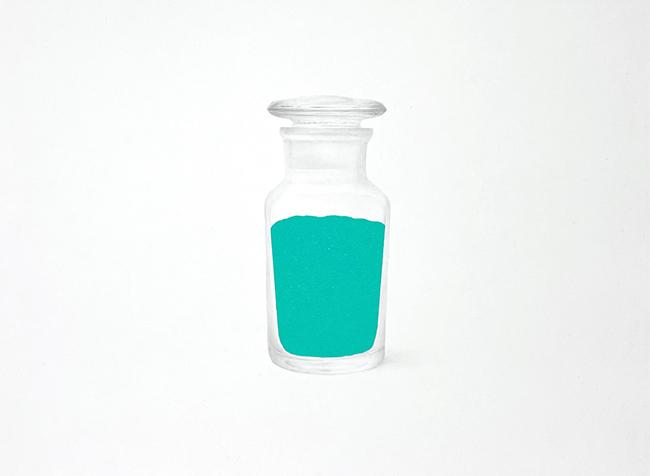 藤城正晴 「Pigment 020」 6号F 税込297,000円