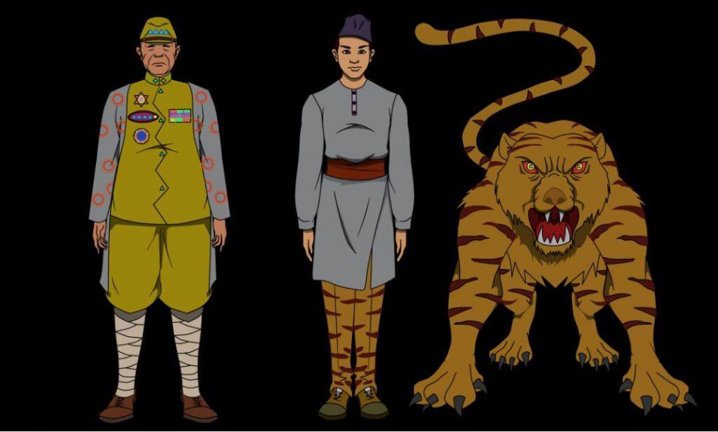 ホー・ツーニェン《マレーの虎(百鬼夜行)》2021年 ©Ho Tzu Nyen