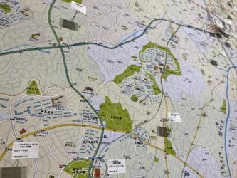 今和泉隆行《空想都市・中村市の大判地図》2010-更新中