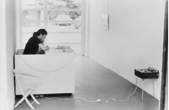 ブルース・ナウマン《コンラート・フィッシャーのための音に関する6つの問題(# 122)》1968年 ノルトライン゠ヴェストファーレン州立美術館、デュッセルドルフ © 2021 Bruce Nauman / ARS, New York / JASPAR, Tokyo   G2589