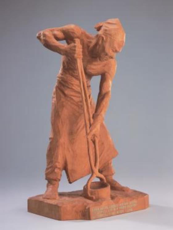 新海竹太郎 《鐘ノ歌》 1924年 前期展示