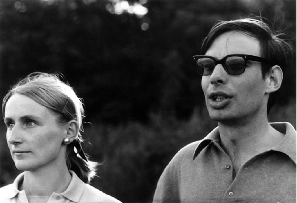ドロテ・フィッシャーとコンラート・フィッシャー 1969年 Photo: Gerhard Richter