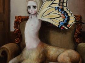 唐仁原希〈過ぎ去りし日の思い出〉2017年、徳島県立近代美術館蔵