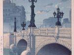 日本橋(夜明)  川瀬巴水/画  1940年(昭和15) 展示期間:9月18日~10月24日