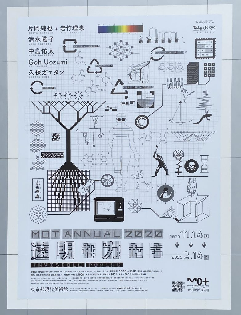 「MOTアニュアル2020 透明な力たち」-東京都現代美術館