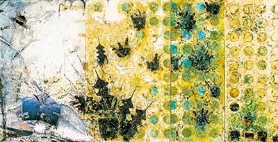 三瀬夏之介「おにの神さん/奇景」京都府立堂本印象美術館
