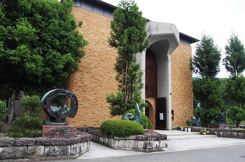 信州新町美術館・有島生馬記念館・信州新町化石博物館-長野市-長野県