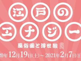 「江戸のエナジー 風俗画と浮世絵」静嘉堂文庫美術館