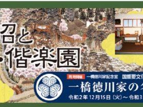 「アーカイブズ展 徳川斉昭と弘道館・偕楽園」茨城県立歴史館