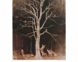 小川原脩展「《森の入り口の白い樹》と北の動物たち」小川原脩記念美術館