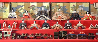 「鍋島家の雛祭り展」徴古館