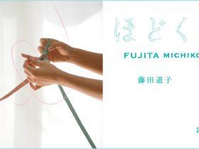 「藤田道子 ほどく前提でむすぶ  FUJITA MICHIKO TIE ON THE PREMISE OF UNTYING」茅ヶ崎市美術館