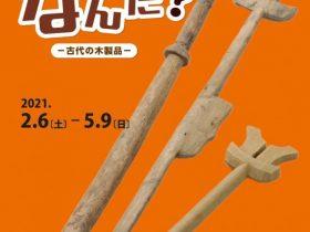 「これなんだ?-古代の木製品-」浜松市博物館