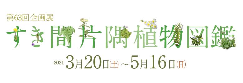 「すき間片隅植物図鑑」群馬県立自然史博物館