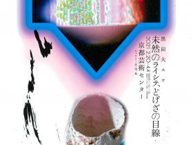 「黒田大スケ 未然のライシテ、どげざの目線」京都芸術センター