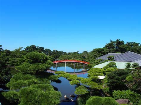 中津万象園・丸亀美術館-丸亀市-香川県