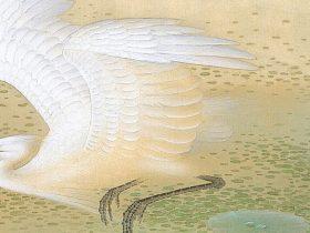 「没後50年 榊原紫峰 花鳥の美に魅せられた日本画家」足立美術館
