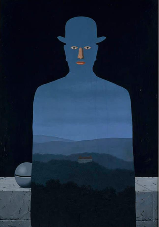 ルネ・マグリット《王様の美術館》 1966年 油彩、カンヴァス 横浜美術館