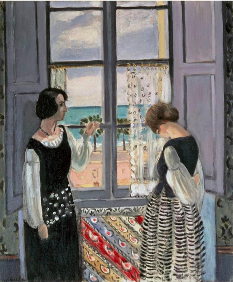 アンリ・マティス《待つ》 1921-22年 油彩、カンヴァス 愛知県美術館