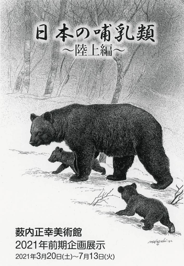 「日本の哺乳類 〜陸上編〜」薮内正幸美術館