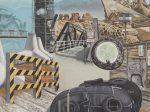 《風景》1972年 キャンバス・油彩