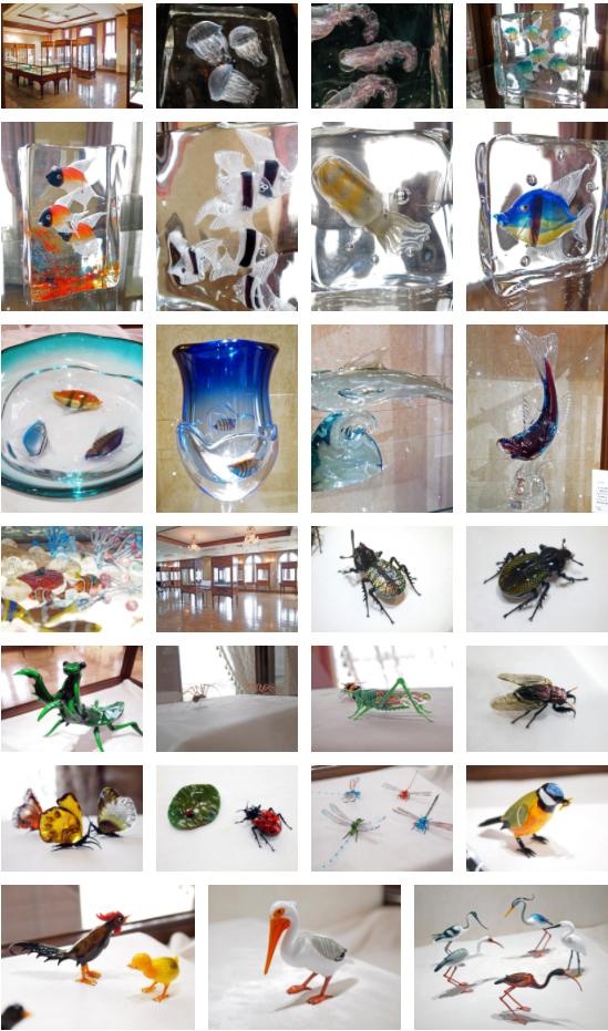 ガラスの生き物展-匠の技が生み出す命のきらめき-」北一ヴェネツィア美術館