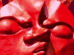 「顔は宇宙だ。」岡本太郎記念館