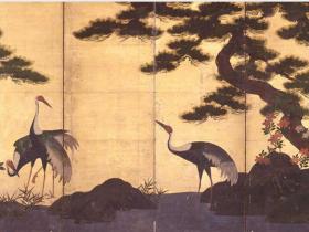 「自然が彩る かたちとこころ― 絵画・茶道具・調度品・能装束など―」三井記念美術館
