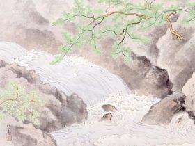 特別陳列「日本の渓谷を描く」笠岡市立竹喬美術館