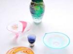「栗原瑠璃華 手吹きガラス展」成川美術館