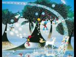 「藤城清治 光の世界メルヘン展」福井市美術館(アートラボふくい)