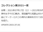 「コレクション展2021ー夏」和歌山県立近代美術館