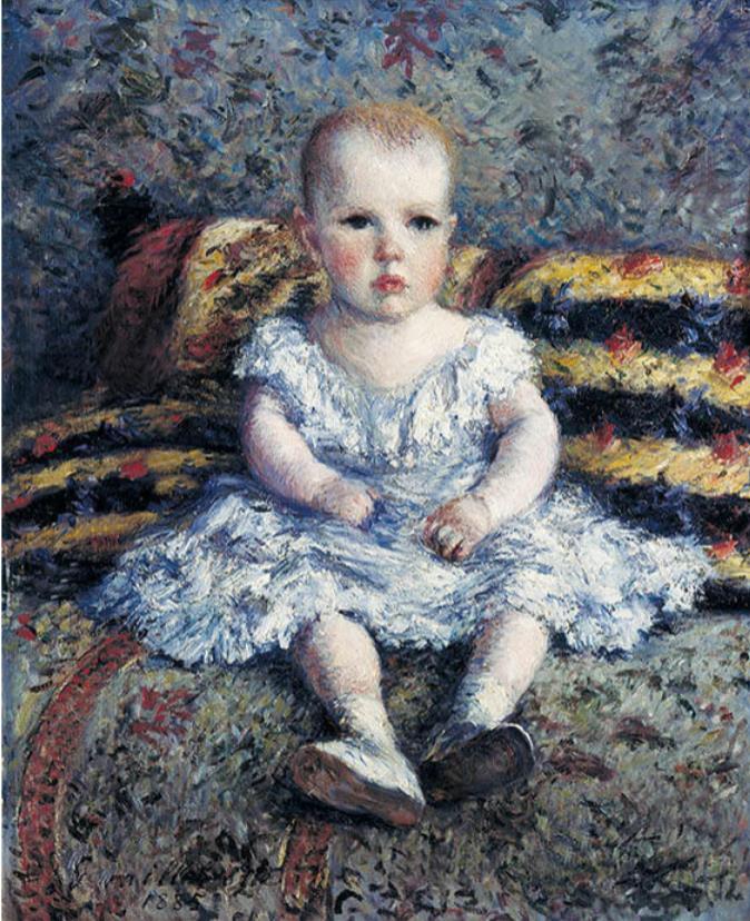 ギュスターヴ・カイユボット 《子どものモーリス・ユゴーの肖像》 1885年 ASSOCIATION DES AMIS DU PETIT PALAIS, GENEVE
