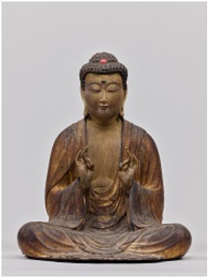 釈迦如来坐像 鎌倉時代 13世紀 本国寺(山梨県身延町)