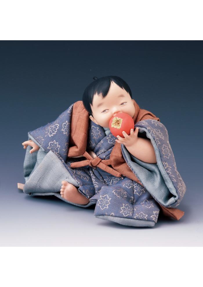 平田郷陽《熟柿》昭和40年代 前島秀章・久代夫妻コレクション 佐野美術館蔵