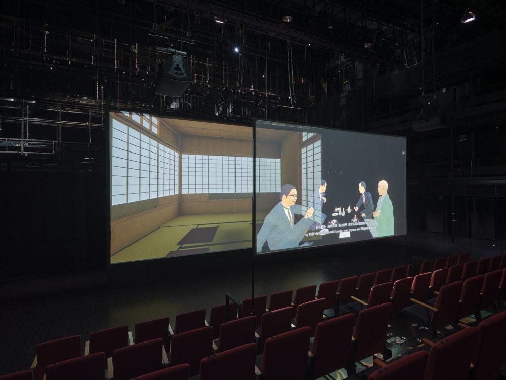 【KYOTO EXPERIMENT】ホー・ツーニェン《ヴォイス・オブ・ヴォイド—虚無の声》 | YCAMとのコラボレーション」京都芸術センター