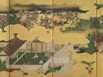 平家物語図屏風(左隻部分)江戸時代前期 岡田美術館蔵