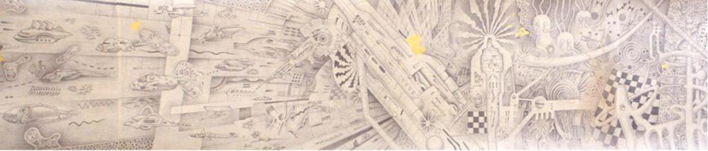 《水の巻》(部分) 1992年 豊田市美術館蔵