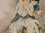 高畠華宵 《月下の小勇士》 1929 弥生美術館 [後期展示]