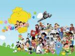 特別展「アニメサザエさんとともに50年-エイケン制作アニメーションの世界-」ふくやま美術館