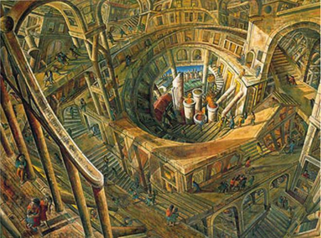 遠藤彰子《遠い日》1985 年、東京国立近代美術館蔵