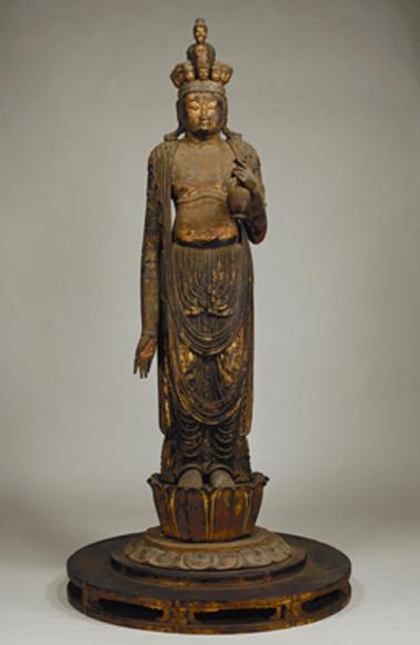 《十一面観音菩薩立像》奈良時代(8c)、大田区(東京国立博物館寄託) Image:TNM Image Archives