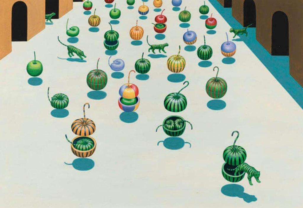 『とらのゆめ』原画 1984年 個人蔵