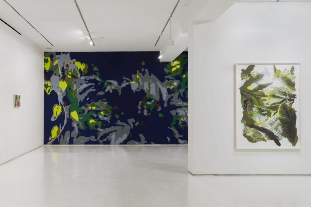 リース直美「Paradise Constructed」展示風景 (Mixed Greens, New York, NY/2015)